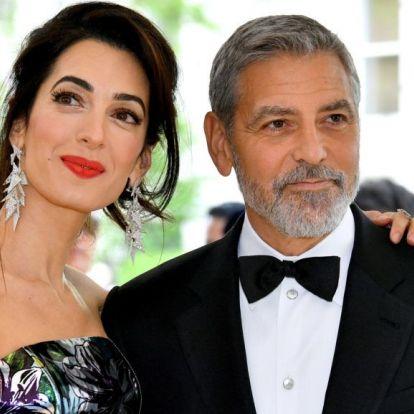 George Clooneyék több mint 320 milliót adtak a koronavírus elleni küzdelmekre