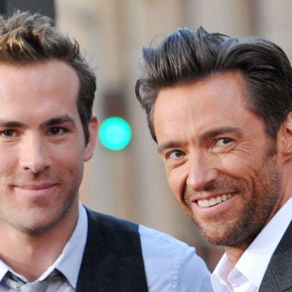 Hugh Jackman és Ryan Reynolds egy világhírű exfeleség miatt lettek országos cimborák