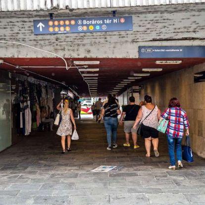 Most eldöntheti, hogyan nézzen ki a felújított Boráros tér