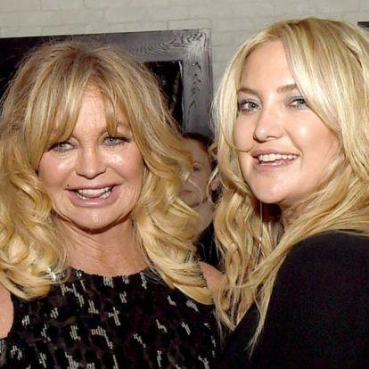 Kate Hudson és Goldie Hawn rendszeresen kitárgyalják egymás szexuális életét