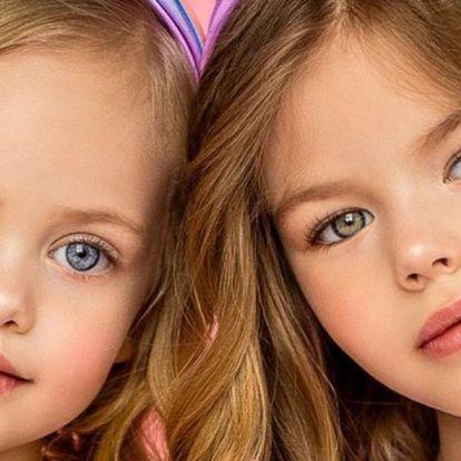 A világ legszebb kislányai úgy pózolnak, mint Palvin Barbi