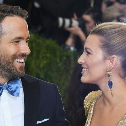 Blake Lively megtrollkodta Ryan Reynoldsot, sírni fogsz a nevetéstől