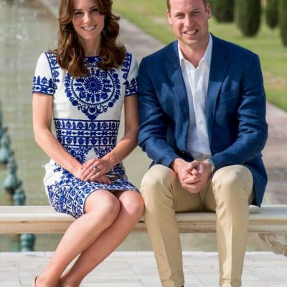 Meglepő póz - Ezért tartja olyan furán Katalin hercegné a lábait