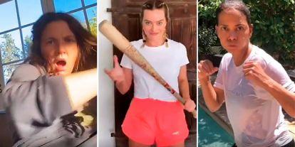 Drew Barrymore, Margot Robbie, Halle Berry... la impactante 'pelea' de las estrellas de Hollywood