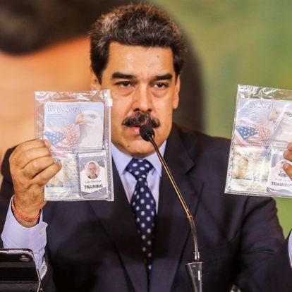Kínosan amatőr puccskísérlettel próbálták megdönteni a Maduro-rezsimet