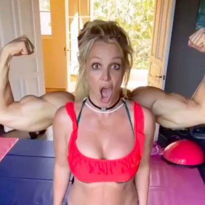 Britney Spears edzéstervét még nézni is megerőltető