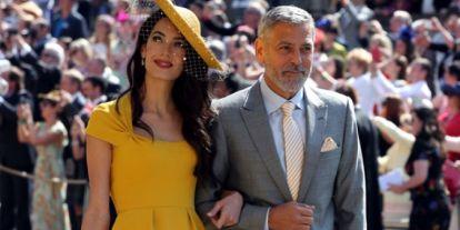 De Kate a Amal, los mejores looks vistos en la boda de Meghan y Harry hace 2 años