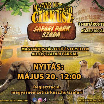 Safari Park Szada: A héten megnyitja kapuit az ország első autós szafari parkja! - Ezt kell tudnod, mielőtt odamész