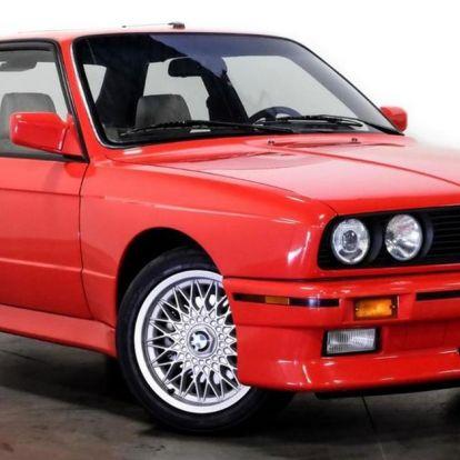 Nem éppen olcsó, de eladó Paul Walker 1991-es M3-as BMW-je! – KÉPEK