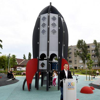 Csepel, Tejút park: Így néz ki a főváros legújabb, világűrös szabadidőparkja! - Van játszótér, futókör, focipálya, amit csak akarsz