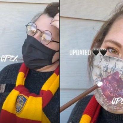 Egy igazi Harry Potter-rajongó biztos ilyen maszkot akar viselni
