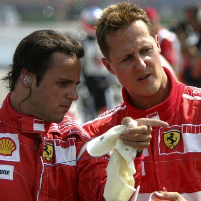 Massa tudja, mi van Schumacherrel