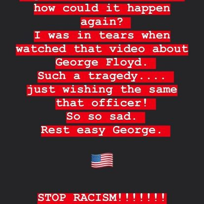 Király Viktor és Radics Gigi is posztolt a rendőri intézkedés során elhunyt fekete férfiről