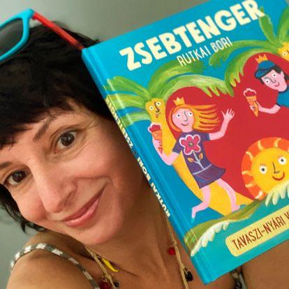 Zsebtenger – megjelent a nyár várva várt mesekönyve Rutkai Boritól!