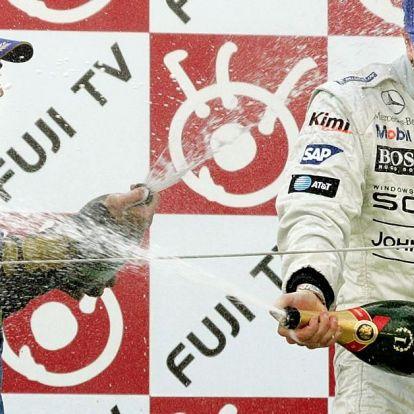 Räikkönen és Alonso hajszája a mezőnyön át Szuzukában