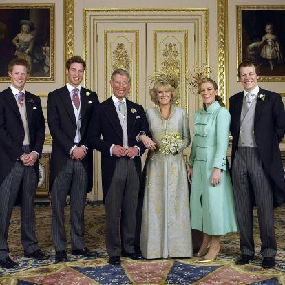És az megvan, hogy Harry és Vilmos hercegnek van két mostohatestvére?