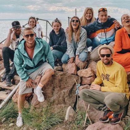 A hétvégén teljesen ellepték a Balatont a magyar celebek