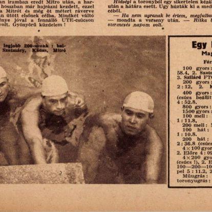 A börtönben végezte Magyarország egyik legjobb úszója