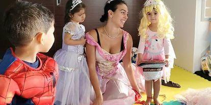 Georgina Rodríguez, una princesa más en la fiesta de disfraces familiar
