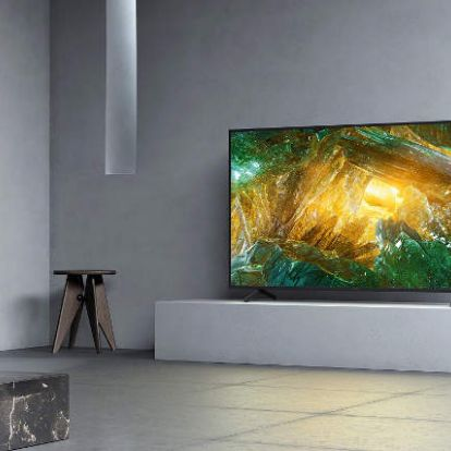 Boltokban a Sony XH80 LCD televíziók