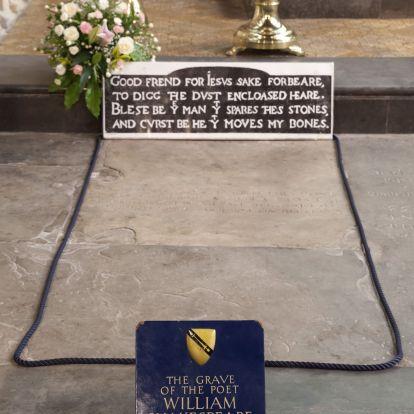 Koporsó nélkül temették el Shakespeare-t