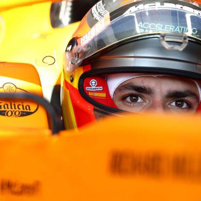 F1: Sainzból világbajnok lehet a Ferrarinál