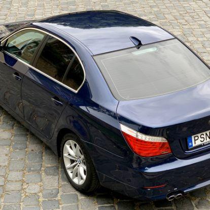 Mint a mesékben – BMW 525d (E60 LCI, 2008) használtautó teszt