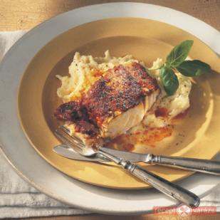 Sült tőkehal paradicsomos mártással - Zöldség alapú ételek, hússal, hús nélkül, egészségesen, táplálóan, mégis alacsony kalóriatartalommal. - Receptvarázs – receptek képekkel
