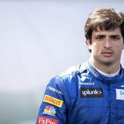 F1: Sainznak az idegeire mehet a Ferrari