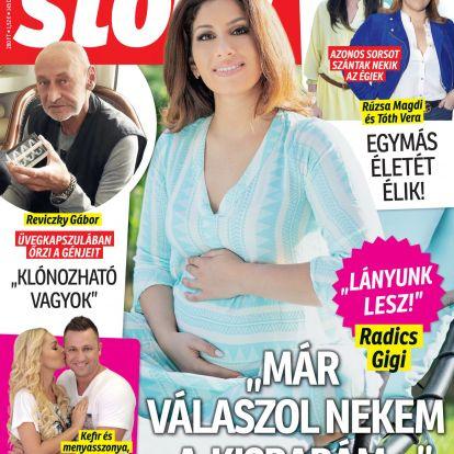 Radics Gigi elárulta születendő gyermeke nemét