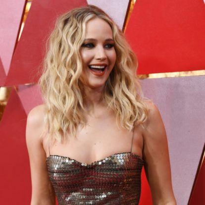 Történelmi pillanat Jennifer Lawrence életében