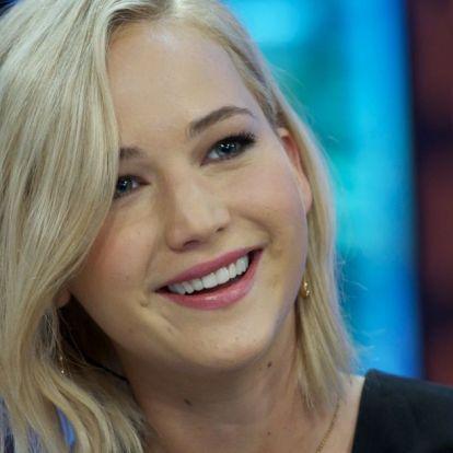 Jennifer Lawrence megtette azt, amiért néhány éve lenézte volna önmagát