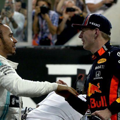 F1: Csak Verstappentől félhet Hamilton