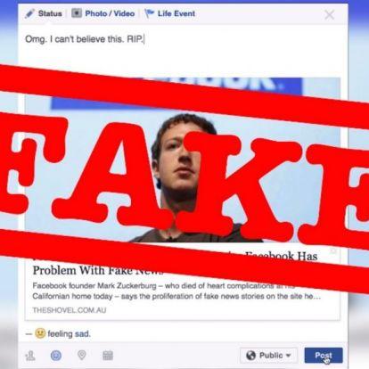 Fake news. A közösségi oldalak a legnagyobb terjesztők