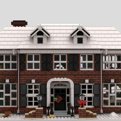 Karácsonyra már kapható lesz a Reszkessetek betörők-ház LEGO változata
