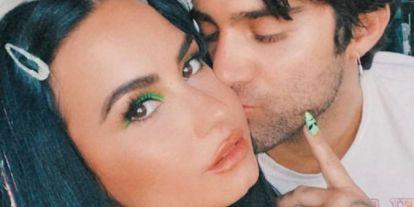 El sensual regalo de Demi Lovato a su novio Max por su cumpleaños