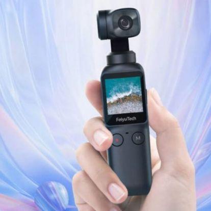 Feiyu Pocket gimbal kamera teszt