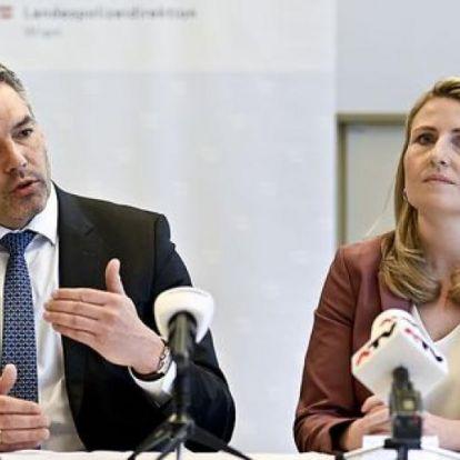 Halálosan megfenyegettek két minisztert a zavargásokat követően Ausztriában
