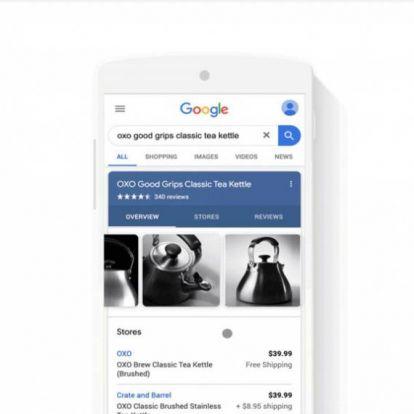 A Google kereső fizetett ajánlatok helyett végre releváns termékeket mutat