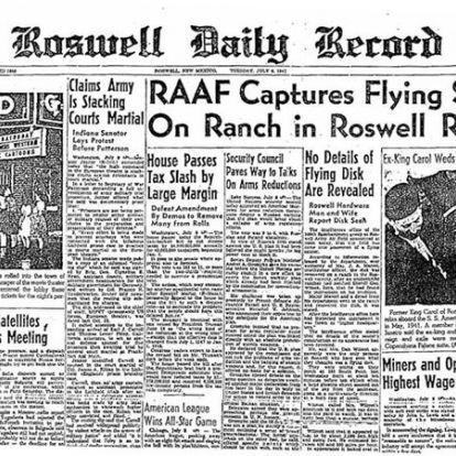 Az amerikai hadsereg máig nem nyitotta meg a roswelli incidens titkosított dokumentumait
