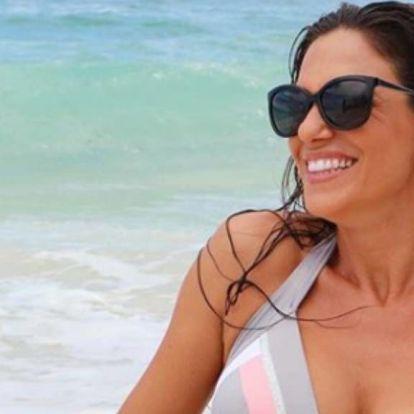 Bódi Sylvi bikinis fotót posztolt az édesanyjáról – anya-lánya programoztak a Balatonon