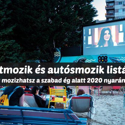 Kertmozik és autósmozik 2020: Itt mozizhatsz a szabad ég alatt idén nyáron! - Budapesti és vidéki helyszínek