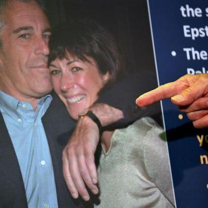 35 évet kaphat Epstein volt barátnője, aki segített behálózni és csapdába csalni a fiatalkorú lányokat