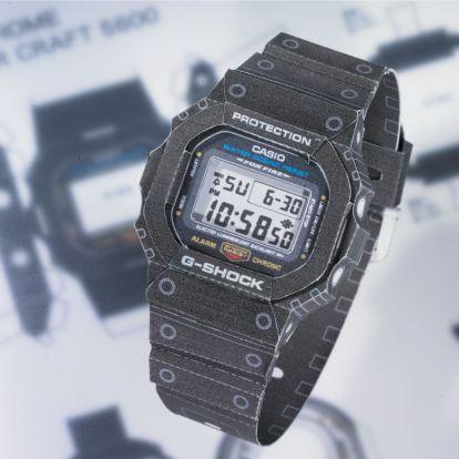 Csináld magad Casio: Itt a kivágható, hajtogatható G-Shock!