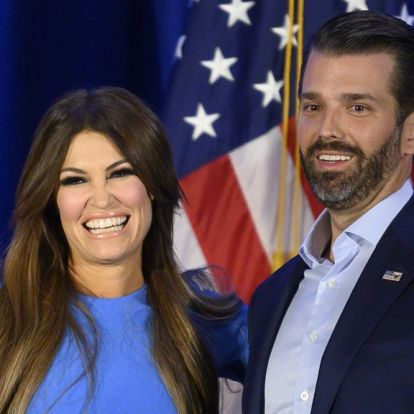 Trump fiának barátnője koronavírusos