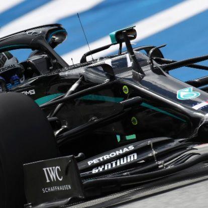 Forma-1: Bottasé a szezon első pole pozíciója