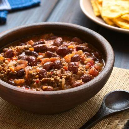 A legegyszerűbb, de legfinomabb chilis bab