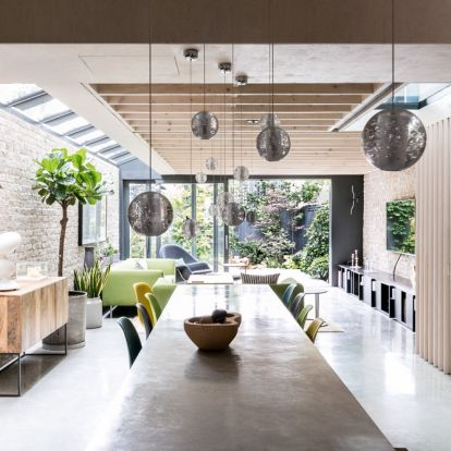 This industrial style London home featured in Livingetc is up for sale