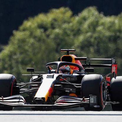 Max Verstappen a Stájer Nagydíj második szabadedzésének legjobbja, Lewis Hamilton csak a 6.