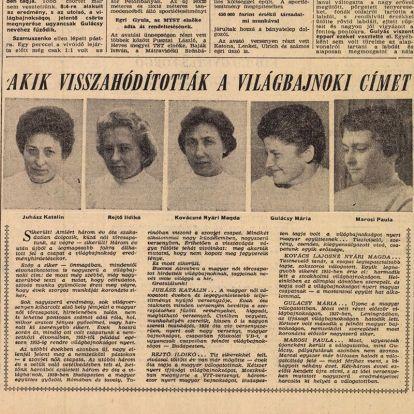 Bár orvos akart lenni, egy ideig takarítónőként kellett dolgoznia a magyar tőrvívás csillagának